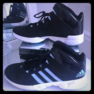 Adidas men's basketball shoes size 13 black blue